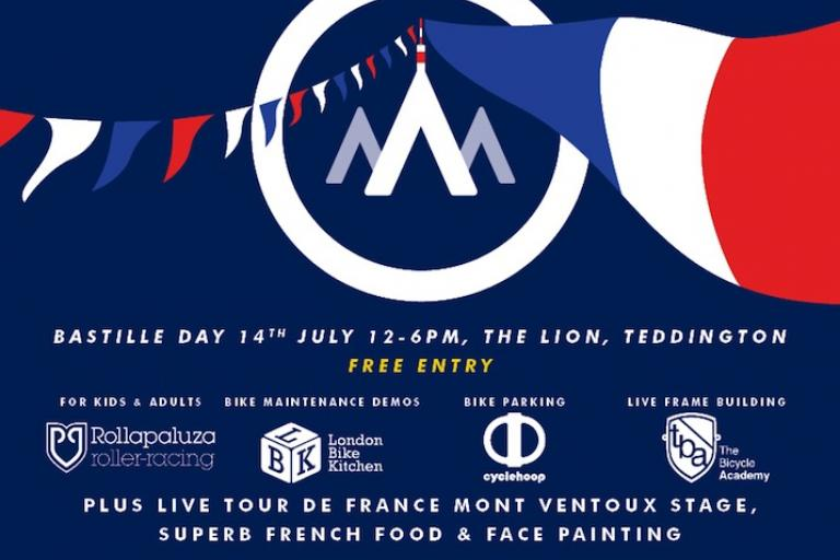Francais Vulpine Cycling Fete on Bastille day