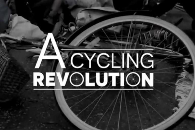 A Cycling Revolution title card YouTube still