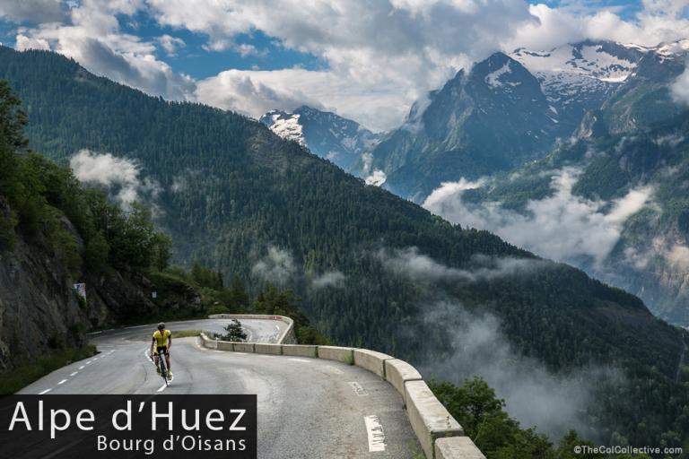 Alpe d'Huez Bourg d'Oisans (copyright TheColCollective.com)
