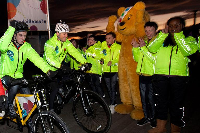 BBC Children in Need Rickshaw Challenge 2012 gets underway