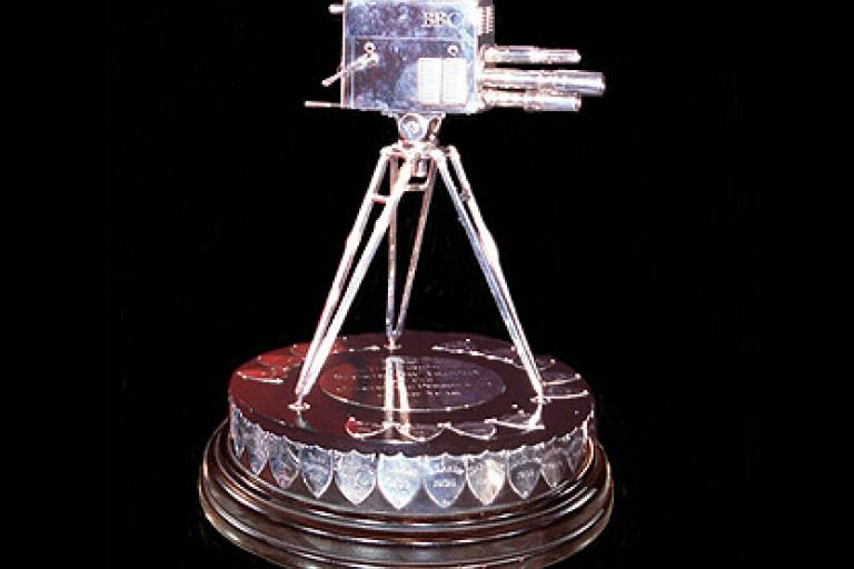 BBC SPOTY trophy (picture credit BBC)