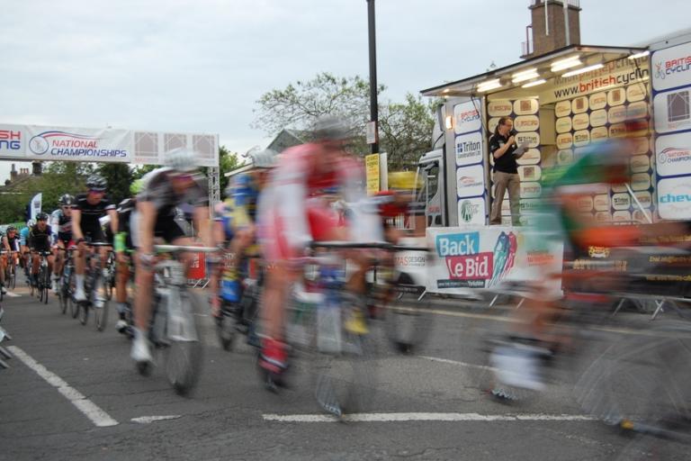 Back le Bid at 2012 Otley Road Races