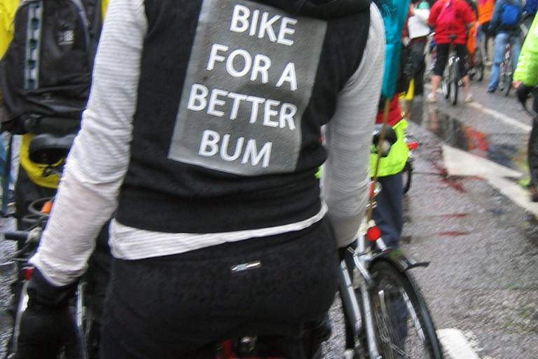 Bike for a better bum