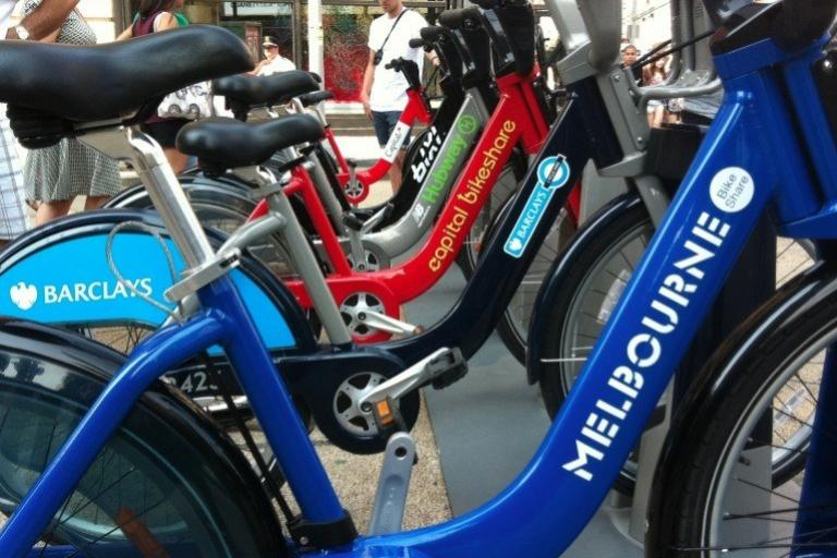 Bike share family (source Melbourne Bike Share)