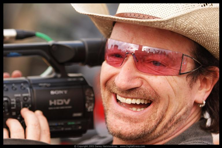 Bono (CC BY-NC-ND 2.0 licensed by Danny Hammontree:Flickr)