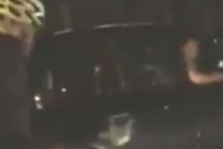 Boris Johnson and black-cab driver YouTube clip still