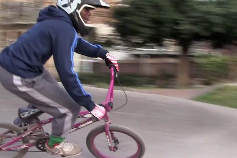 Bow Boys BMX Club Sustrans video still