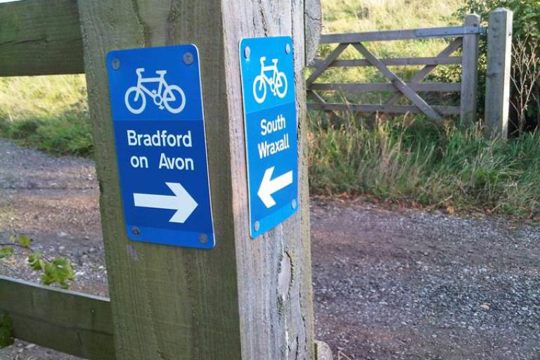Bradford on Avon South Wraxall Cycle Path