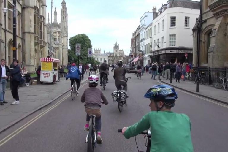 Cambridge - Britain's Cycling Capital - Streetfilms Vimeo still