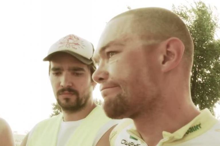 Christoph Strasser abandons 2015 Race Across America YouTube still