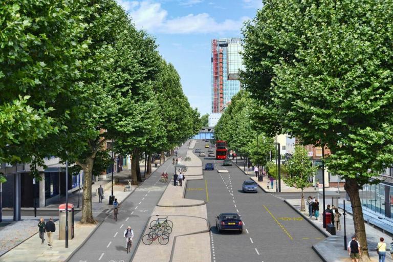 Cycle Superhighways plans - Blackfriars