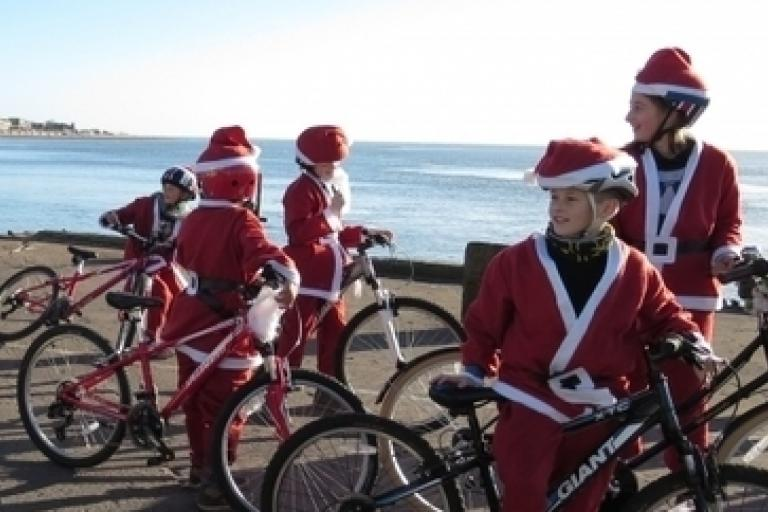 Cycling Santas.png