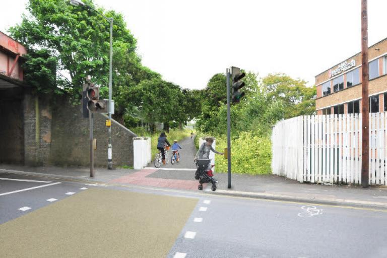 Cyclists of Kingston watch out for unexploded bombs