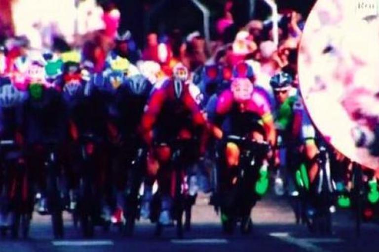 Daniele Colli Giro crash
