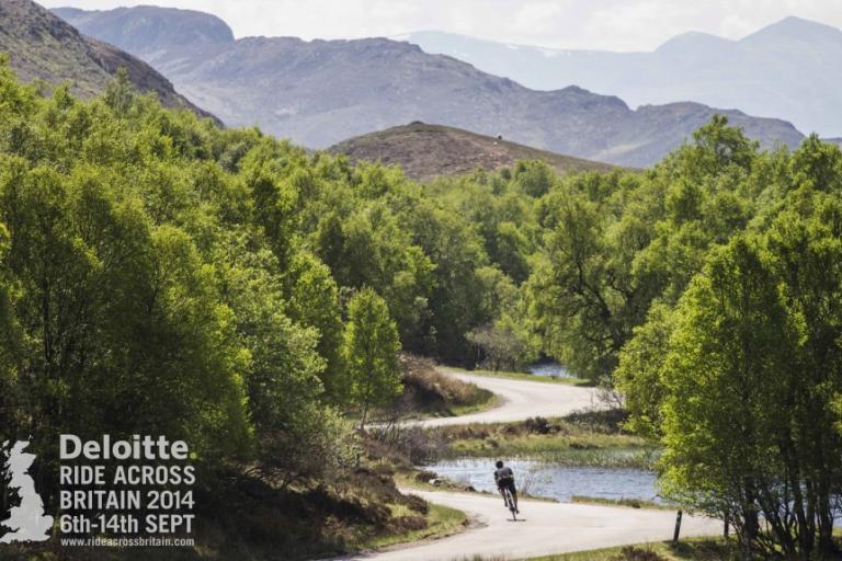 Deloitte Ride Across Britain 2014