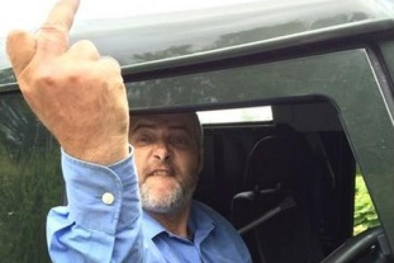 Devon driver who allegedly knocked cyclist off the road