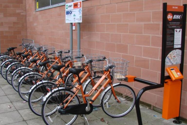 Dumfires Bike2Go (picture credit Hourbike)