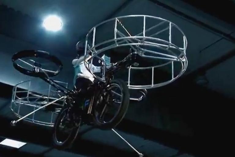 F-Bike YouTube still
