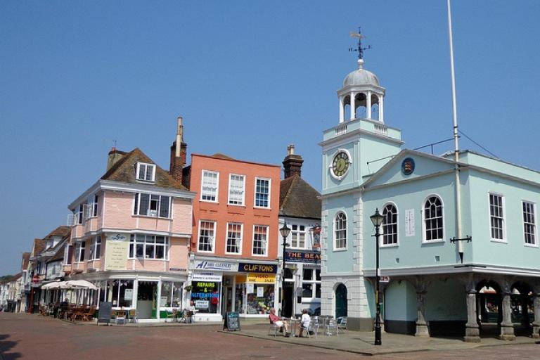 Faversham (image CC licensed by diamond geezer via Flickr)
