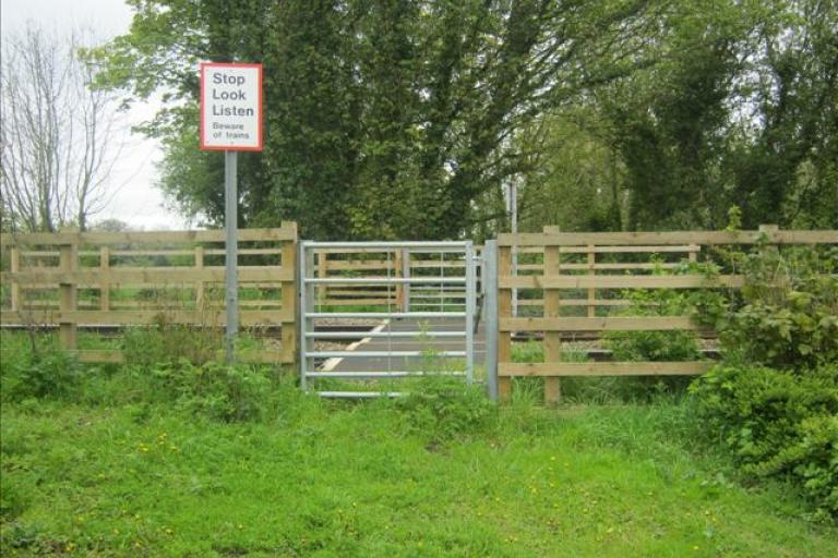 Footpath level crossing (picture - Network Rail)