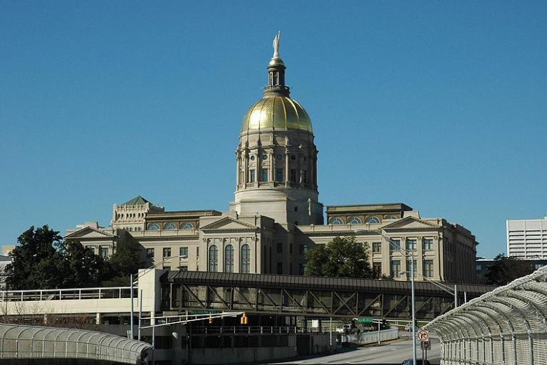 Georgia State Capitol (CC licensed by Autiger)