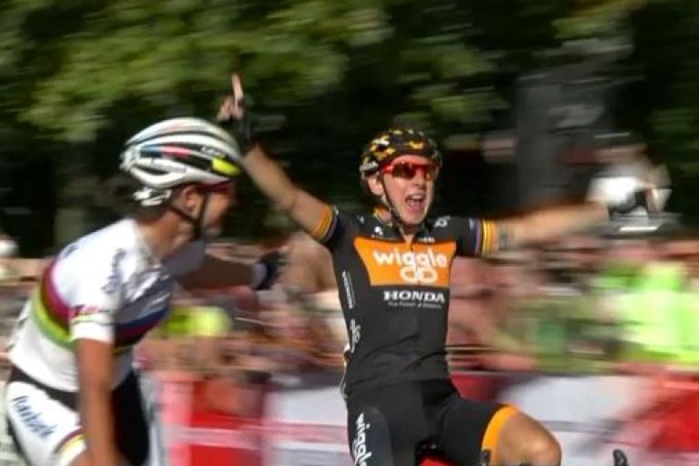 Giorgia_Bronzini_wins_RideLondon_GP_YouTube_still