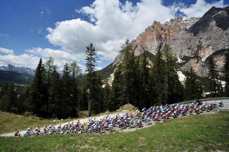 Giro 2012 S17 Dolomites (Daniele Badolato - La Presse - RCS Sport)