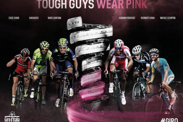 Giro 2014 Tough Guys Wear Pink