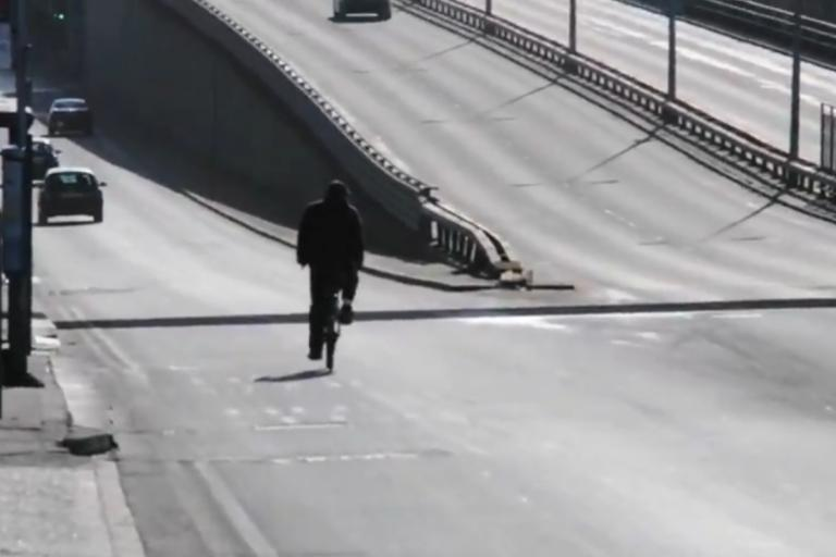 Great Divide ride video still (source Barnet Cycling Campaign)
