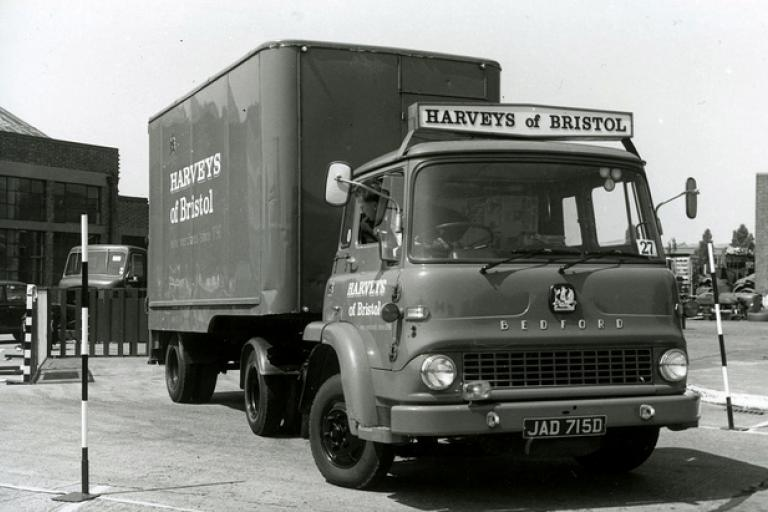Harveys of Bristol lorry (courtesy Brizzle born and bred)