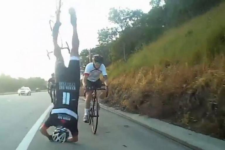 Head over Wheels still (uploaded to Vimeo by Fly6)