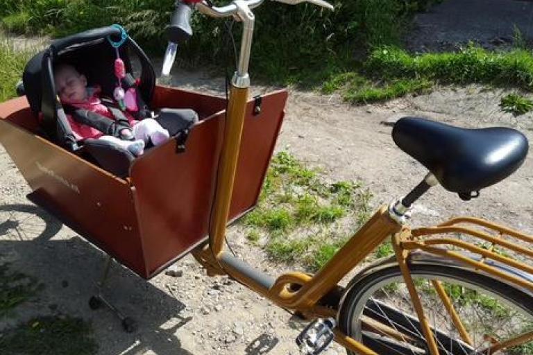 Jon Usher's cargo bike