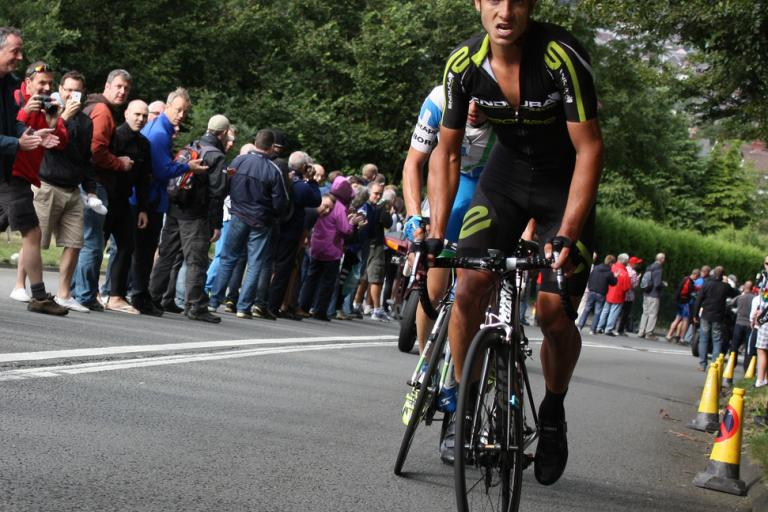Jonathan Tiernan-Locke during 2012 Tour of Britain (CC licensed on Flickr by Sum_of_Marc)