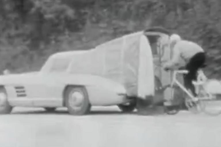 Jose Meiffret 1961 record attampt video still