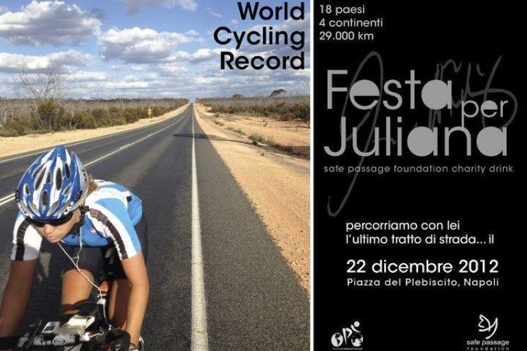 Juliana Buhring World Cycle