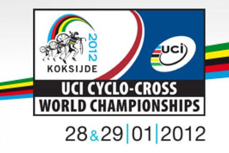 Koksijde UCI Cyclo-Cross World Champ 2012 logo