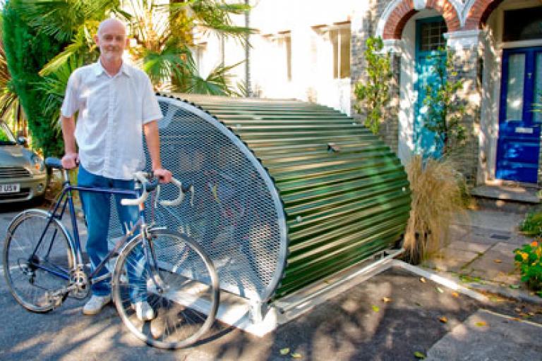 Lambeth bike box (picture - London Brough of Lambeth)