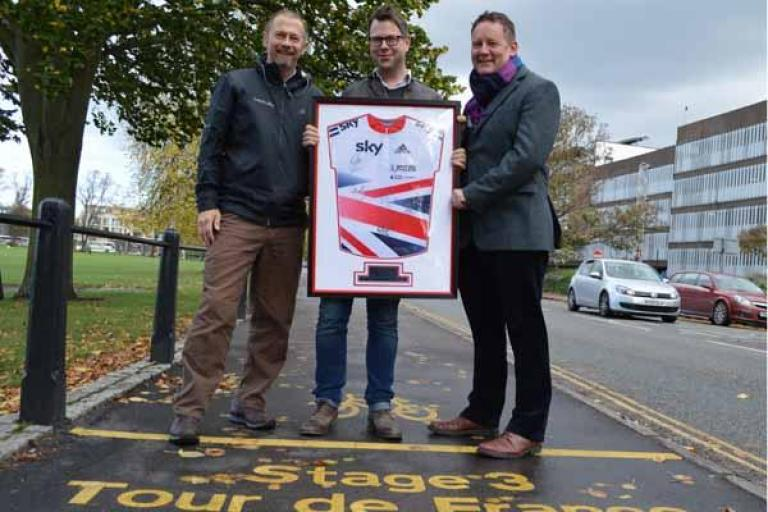 Launch of Cambridgeshire Cycling Partnership (picture credit Cambridgeshire County Council)