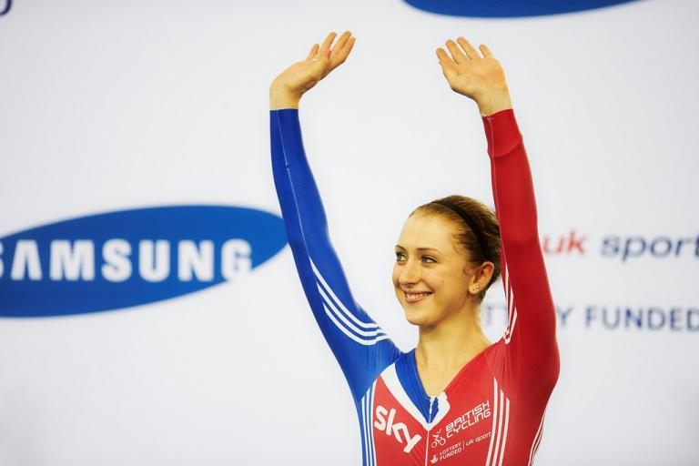 Laura Trott (copyright Britishcycling.org.uk)