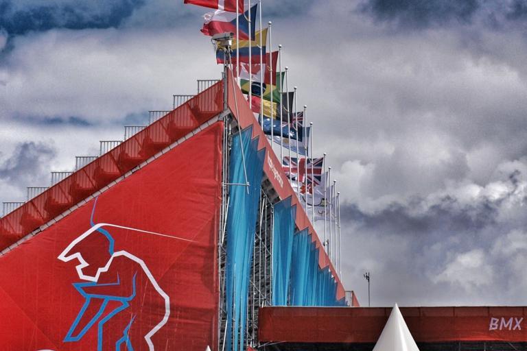London 2012 BMX arena exterior