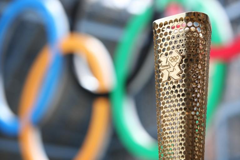 London 2012 Olympic Torch (picture credit - LOCOG)