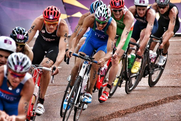 London 2012 Olympic triathlon (copyright Simon MacMichael)