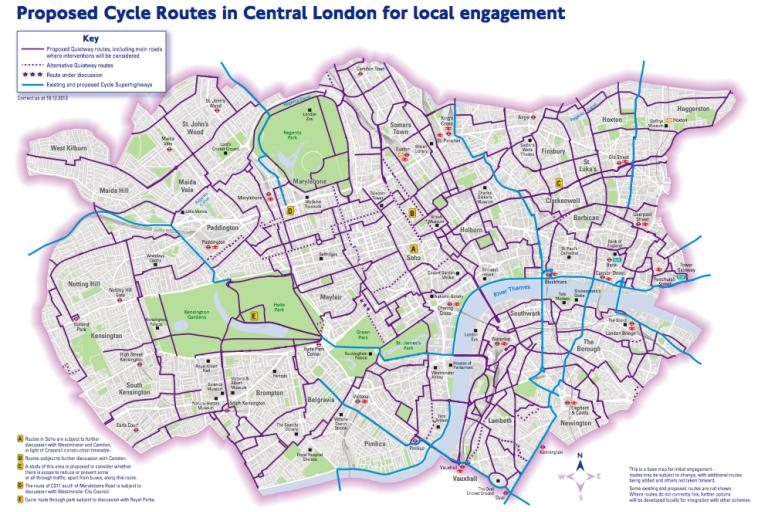 London Cycle Grid.png