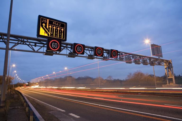 M42 (CC licensed image by Highways Agency:Flickr)
