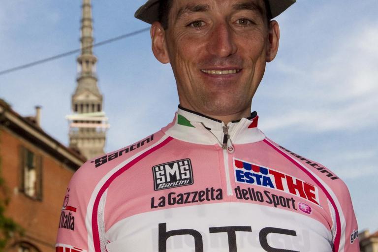 Marco Pinotti in the maglia rosa.jpg