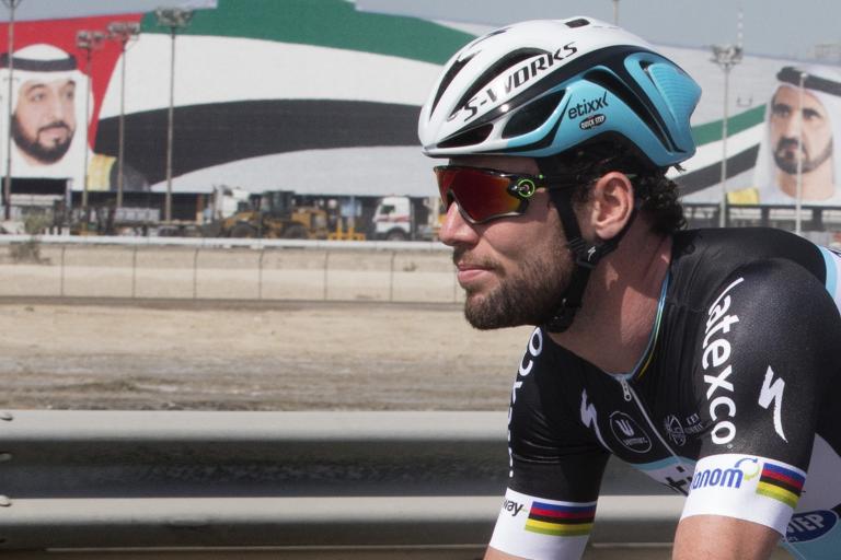 Mark Cavendish at Dubai Tour 2015 (picture credit ANSA Dal Zennaro, Peri)