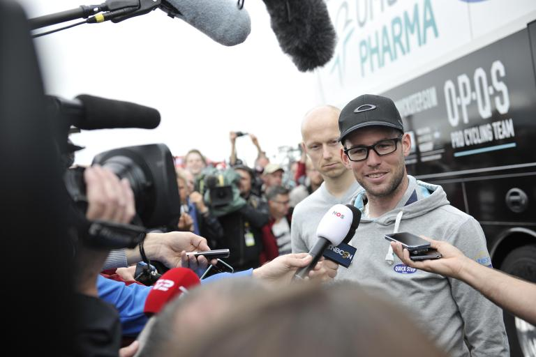 Mark Cavendish confirms he is out of 2014 TdF(picture courtesy Welcome to Yorkshire)