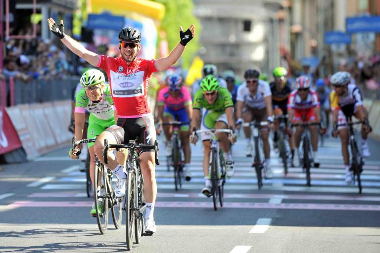 Mark Cavendish wins 2013 Giro d'Italia Stage 21 (picture - RCS Sport)