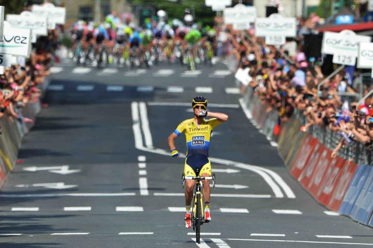 Michael Rogers wins 2014 Giro Stage 11 - picture LaPresse
