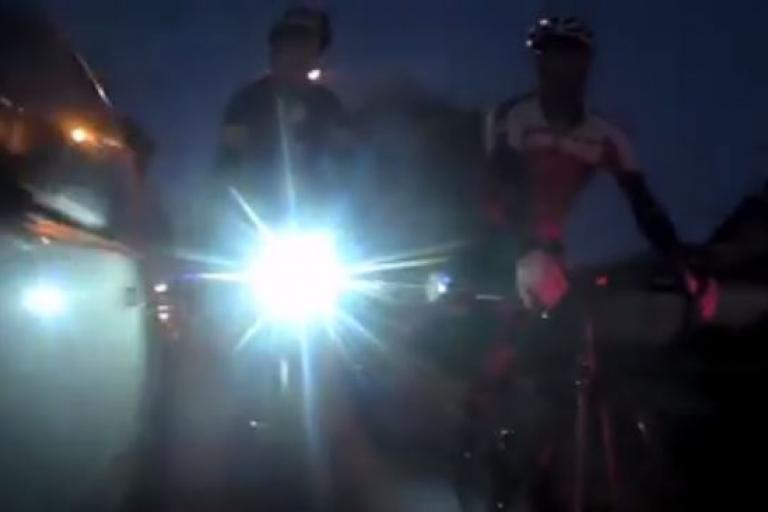 Midland, Western Australia hit and run (Facebook video still)